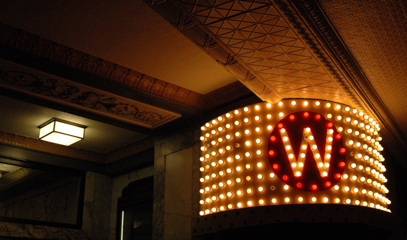 Looking forward to seeing the Wilma, Montana's largest screen