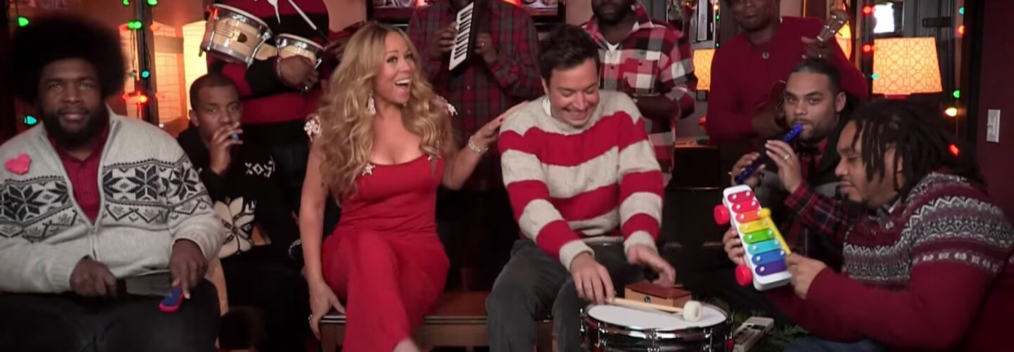 Jimmy Fallon, Mariah Carey & The Roots: All I Want For Christmas Is ...