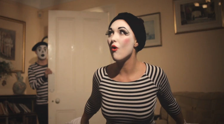 The Girl is Mime - Tim Bunn