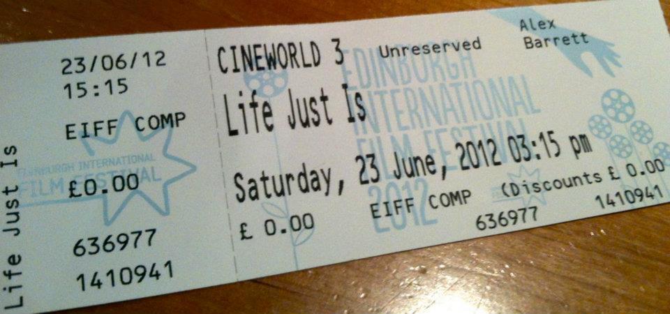 Life Just Is - Edinburgh Film Festival