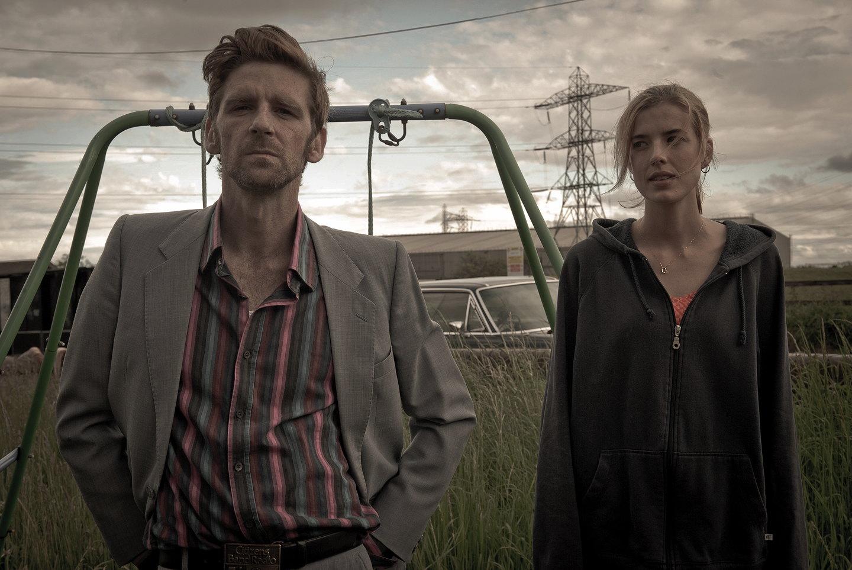 PAUL ANDERSON (Barry O'Connor) & AGYNESS DEYN (Lily O'Connor) BY PAUL STEPHENSON