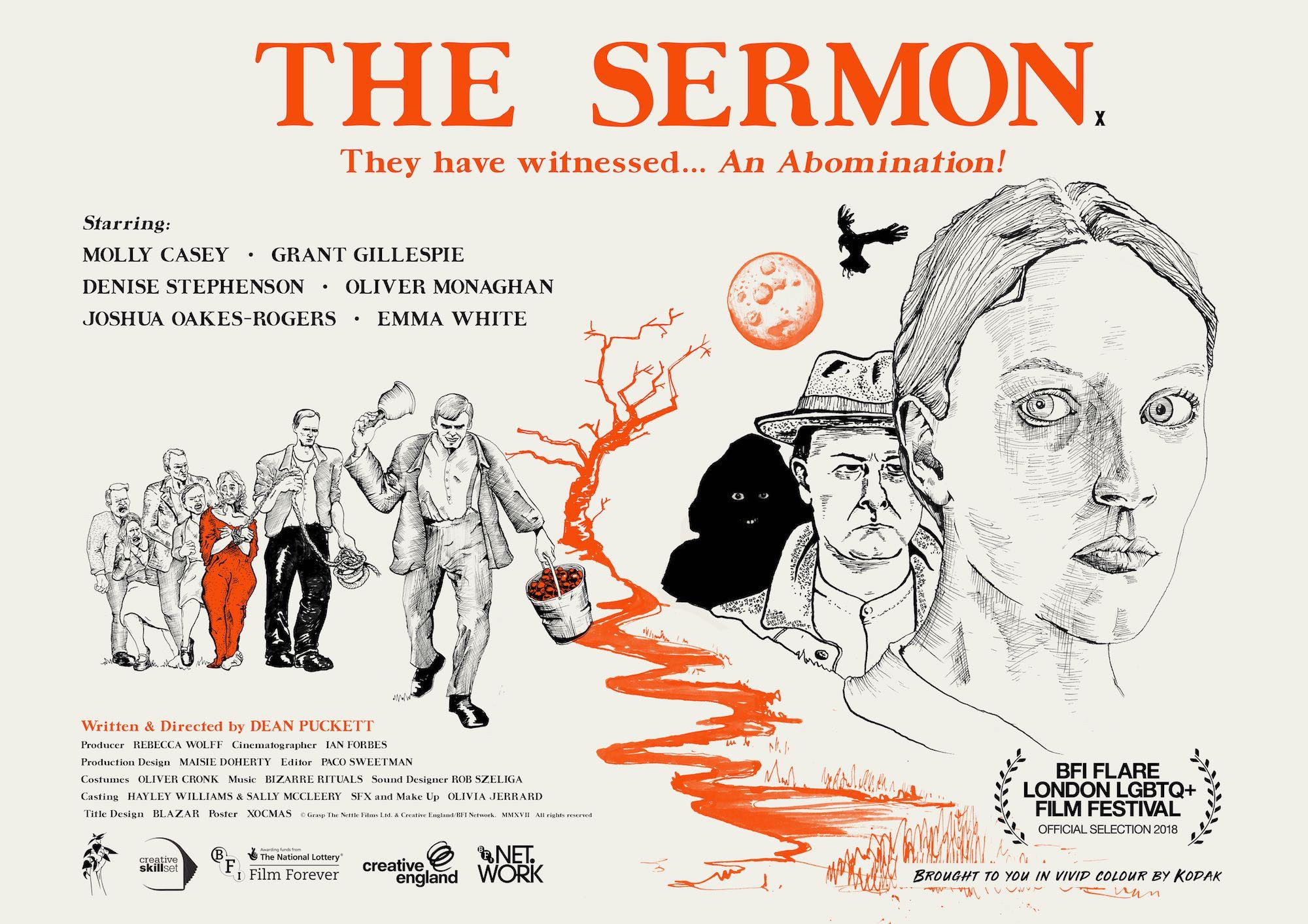 The Sermon poster - landscape | Directors Notes