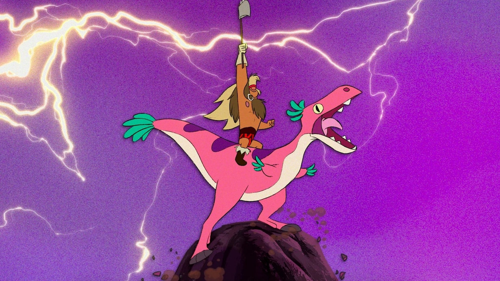 Dinosaur Barbarian